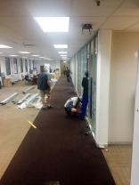 Training rooms in progress
