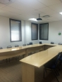 Our current training room, ready to receive students.