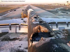 Lithium Battery Fire Damage